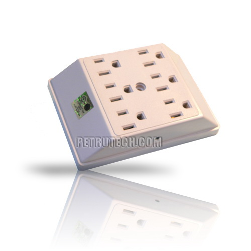 UHF Crystal Controlled Bug Spy Transmitter in six way socket outlet