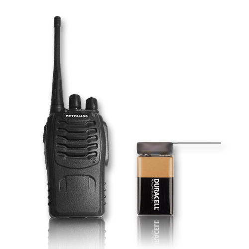 Set transmitter VOX9 and receiver