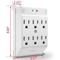 Multi plug wall adapter powerful UHF VOX 110 Volts USA