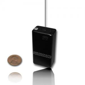 Powerful UHF micro transmitter 9v inserted in ABS box