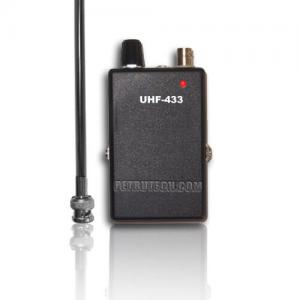 Receiver UHF stabilized sensitive detachable antenna 433MHz