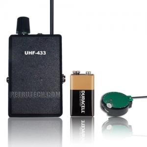 SET UHF transmitter 3v to 6v and UHF receiver quartz stable
